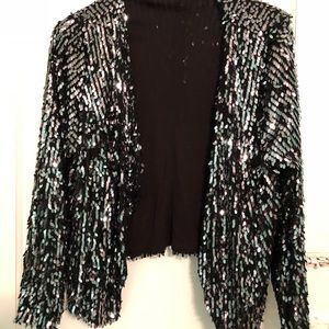 INC Sequin Jacket